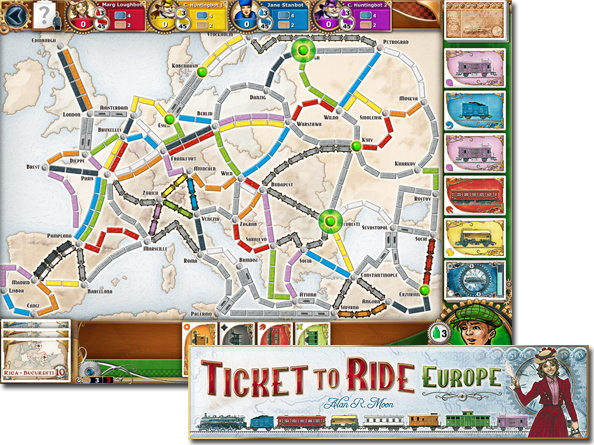 Ticket to Ride(チケットトゥライド)ヨーロッパ