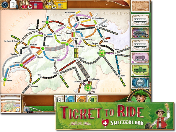 Ticket to Ride(チケットトゥライド)スイス
