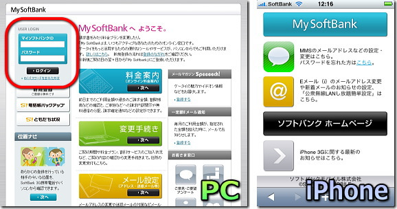 My Softbank