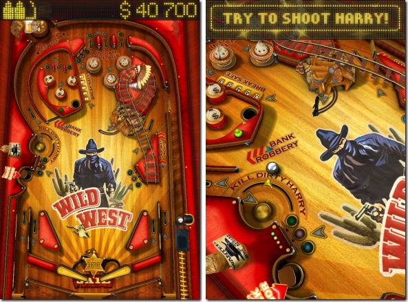 Pinball HD - Wild West