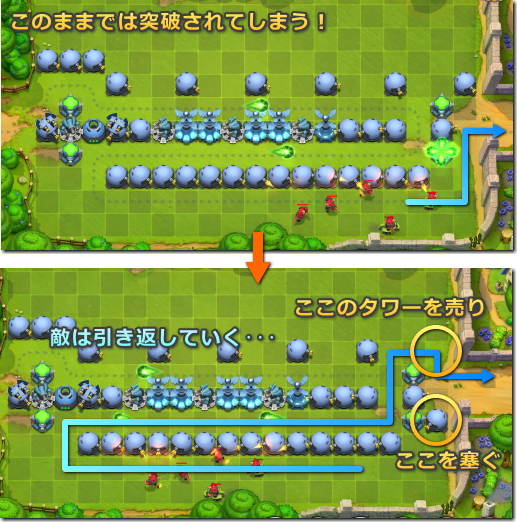 Fieldrunners2(フィールドランナーズ2)ジャグリング