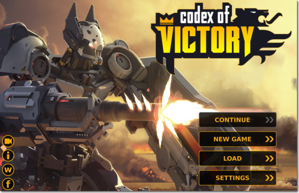 Codex of Victory タイトル