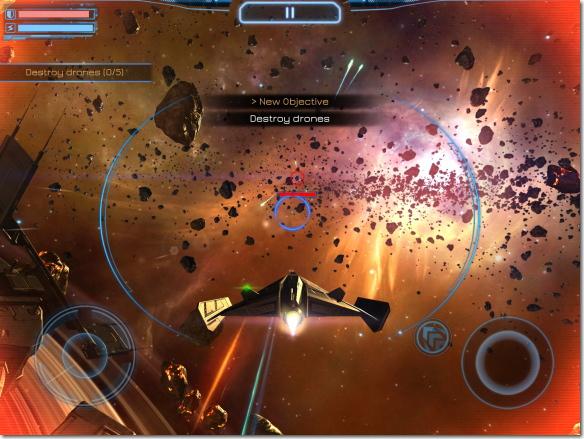 Subdivision Infinity 戦闘シーン